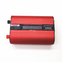 Convertisseur auto voiture alimentation 1000W DC 12V à 220V AC convertisseur avec affichage LCD et un port USB pour voiture