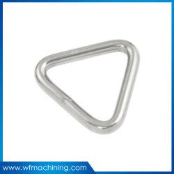 고품질 금속 삭구 기계설비 스테인리스 304/316는 용접한 D-환형물, 둥근 반지, 삼각형 반지를 채찍질하는 웹 새총을 용접했다