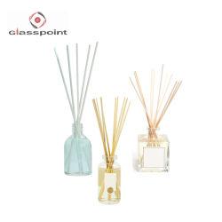 250ml het witte Glas van het Parfum van de Fles van de Verspreider van het Riet van de Luxe Decoratieve