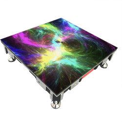 Pleine couleur P4.81 Interactive écran LED de plancher de danse pour Night Club Disco Bar KTV