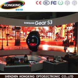 P4 Indoor haute Actualiser mur de LED noir pour l'étape