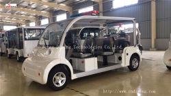 8 Sièges à commande électrique véhicule de patrouille de sécurité/voiture avec Design le plus récent fabriqués en Chine