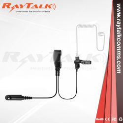 용 나사 커버트 음향 튜브 이어피스가 있는 단일 2.5핀 Hytera TC-320