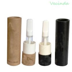 Vecinda новый продукт пользовательский подарок картридж Vape пакет картон бумага цилиндра в коробке упаковке