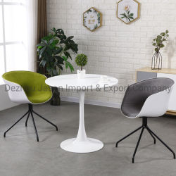 Asiento de tela al por mayor uso específico con ruedas giratoria hogar simple silla de oficina