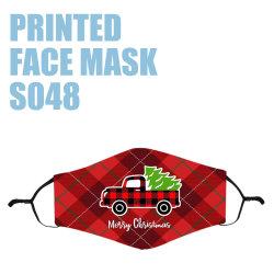 Coperchio Non-Disposable di seta stampato Anti-Polvere lavabile protettiva su ordinazione riutilizzabile della maschera di protezione di marchio del panno di cotone di modo usando per gli adulti dei bambini