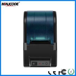 Desktop 58mm/código de barras Impressora térmica de recibos, POS Impressora de recibos para restaurante, Vendas, Cozinha, Varejo Mj5818