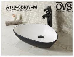 Черная Раковина туалетный столик в ванной комнате санитарных продовольственный цвет бассейна