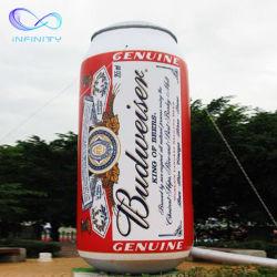 거대한 팽창식 맥주 병 주스 병 팽창식 CAN 실외 팽창식 음료 광고 장식