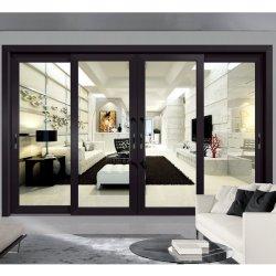 Матовое стекло алюминиевый профиль кухня сдвижной двери для внутренних дел