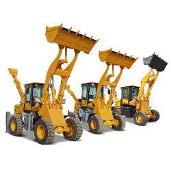 Mini cargadora retroexcavadora 4X4 Pequeña cargadora retroexcavadora retroexcavadora tractor con el accesorio para la venta 2 ton. de 3 toneladas de 5 toneladas de 6 Ton.