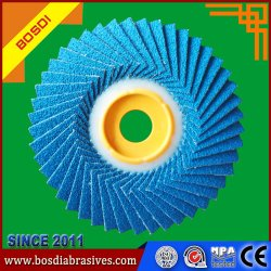 Non-Woven cubierta de volante de dirección/ el óxido de aluminio de la rueda de la trampilla de abrasivos para madera / No Tejidos máquina de hacer la rueda de polaco