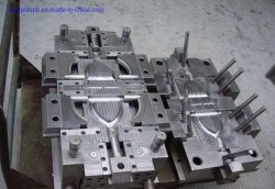 Aspa del ventilador de alta precisión de moldes de inyección de plástico de calidad de aleación de aluminio de molde el molde de moldeo y fundición a presión