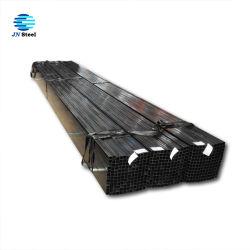Tubo negro cuadrado cuadrado de hierro negro de 100 X 100