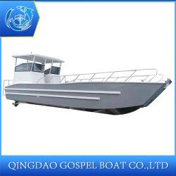 10m de embarcações de desembarque de alumínio com grande capacidade de carga para transferência de veículos