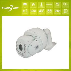Zoom optique 18x HD de la sécurité de vision nocturne 4G sans fil WiFi caméra dôme mobile vidéo
