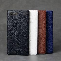 PU 가죽 보호 전화 케이스 후면 커버 TPU 범퍼 백 BlackBerry 키 2용 스킨 하드 케이스