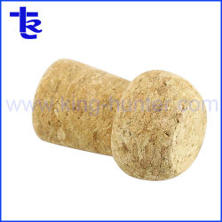 Mushroom Cork Pendrive Memory Stick™ de forme en bois avec logo personnalisé