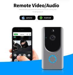 WiFi видео двери селекторной связи Bell камеры с помощью смарт-телефона