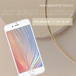 """Fty Tamanho pequeno OEM 4.7"""" Telemóvel Inteligente Substituição Tampa à Prova de ecrã táctil TFT LCD para iPhone 7G"""