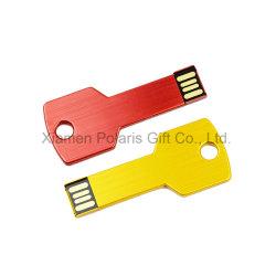 Простые основные формы рекламы металлический флэш-накопитель USB