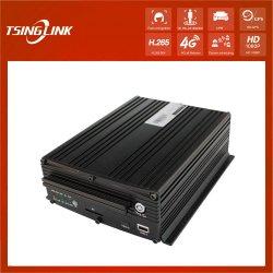 1080P H. 264 GPS Bluetooth 4G Mdvr van de Auto DVR van het Schip van kabeltelevisie Slimme Mobiele