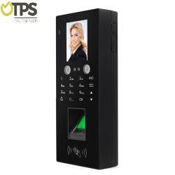 2,8inch 300 Gesichtserkennung 3000 Fingerabdruckkapazität mit 125kHz RFID Zeiterfassung für die Kartenzugriffssteuerung für das Türschloss