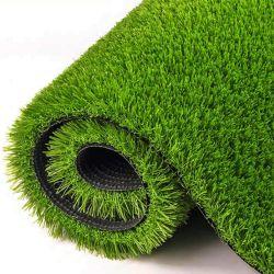 Personalizar colores blanco y verde césped de hierba artificial Moqueta para Gimnasio Piscina Pista de trineo