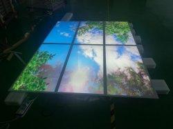 Real 3D Vision Blue Sky Panel LED luces del panel de tragaluz Artificial