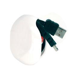 승진 선물 플라스틱 자동적인 이어폰 코드 조직자 케이블 와인더