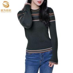 新しい方法O首の女性の極度のMerinoウールのセーターのプルオーバー