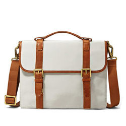 Populares Design de moda em couro de lona Saco de ombro na maleta.