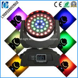 Illuminazione a LED da fase 36PCS*15W 4 in 1 Beamwash, faro mobile con Zoom da Guangzhou