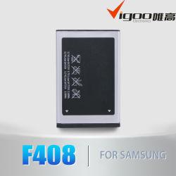 Batteria del telefono delle cellule di F408 850mAh per Samsung