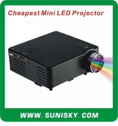Smp7043 LED barato Mini projector de Pico