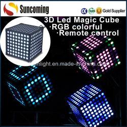 Индикатор 3D-Magic Cube красочные танцы декор Освещение