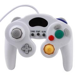 Nuovo rilievo del gioco del regolatore per GASCROMATOGRAFIA Gamecube di Nintendo per Wii