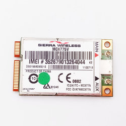 Mc8775V Tarjeta Mini PCI Express para UMTS/HSDPASKU# 1100713