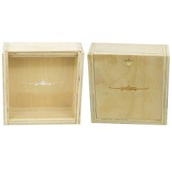 Cadeau de luxe fait sur mesure en bois massif de bambou de pin de bouleau de bijoux ou de stockage de boîte de bijou Boîte en bois