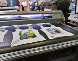 Ignifugés matériaux étanches l'impression par l'encre pigment textiles