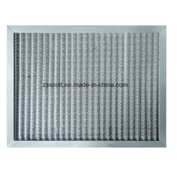 Aluminium-Luftfilter Wiederholte Reinigung Metallfilter