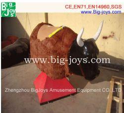 Touro inflável máquina de equitação, Mecânica Rodeo Bull, almofada insuflável Rodeo Bull