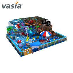 ملعب تنس داخلي وخارجي لألعاب الملاهي التجارية الناعمة للأطفال والأطفال من البلاستيك/الخشب