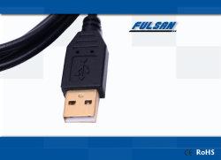 Corta el cable USB macho a macho USB 2.0 Cable de conexión de datos