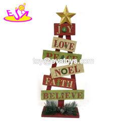 De in het groot Goedkope Houten Ideeën van de Decoratie van Kerstmis met passen W09d040 aan