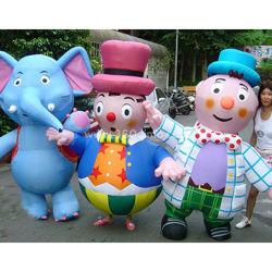 La publicité personnalisée Animal gonflable Cartoon, gonflable Costume de marche pour l'affichage