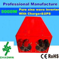 12V 220V Pure Sine Wave Power Inverter with Charger 5000W