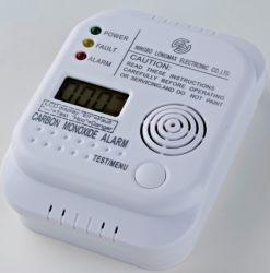 Угарный сигнал тревоги работает от батареи