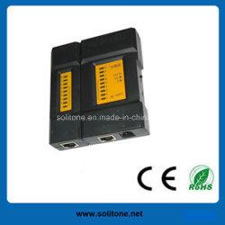 جهاز اختبار كبل الشبكة الصغيرة لـ RJ45/RJ11/Rj12 (ST-CT468M)