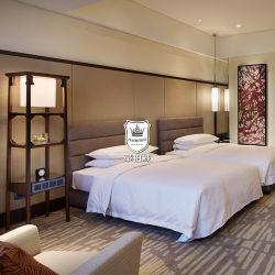 旧式な中国様式の材木のホテルの寝室セットの家具